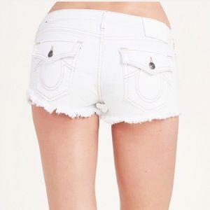 True Religion Joey Cut-off Shorts